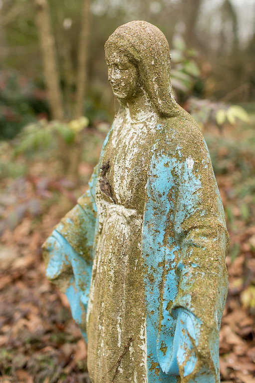 Old Statue of the Virgin Mary