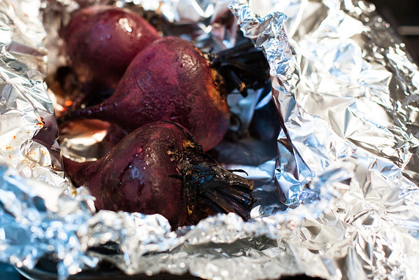 Roasted beets - nature's candy!