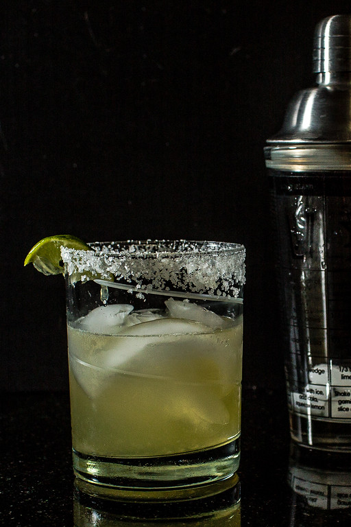Tim G's Margarita includes homemade limoncello and jalapeno infused tequila!