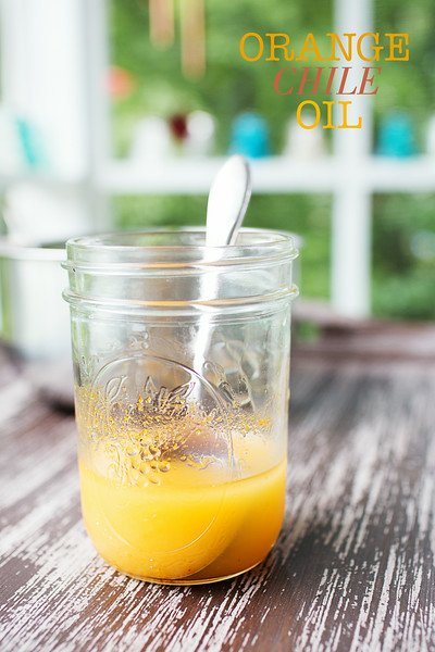 Orange Chile Oil | Sidewalk Shoes