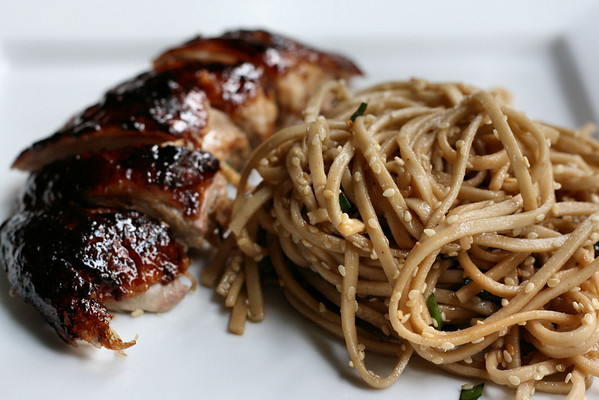Duck with Cold Sesame Noodles