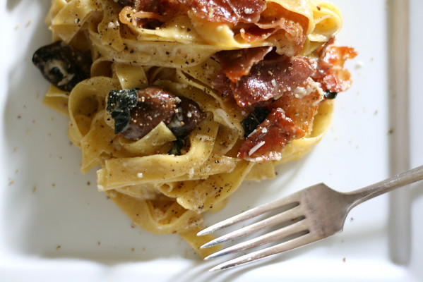 Pasta with Prosciutto