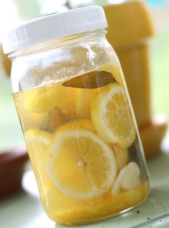 Herbed Lemon Vinegar