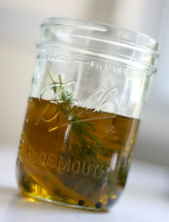 Rosemary Oil with Orange and Black Peppercorns
