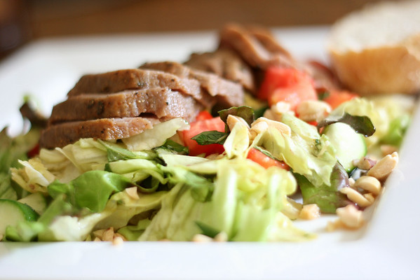 Beef Salad with Mint
