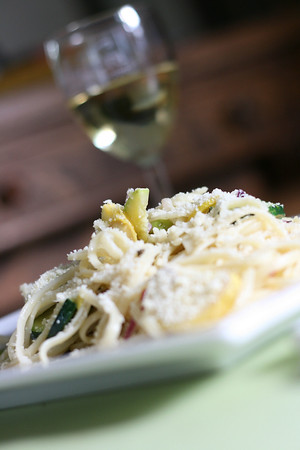 Linguine with Zucchini