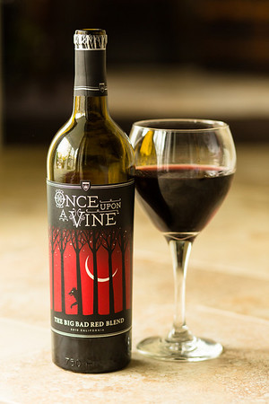Once Upon a Vine Big Bad Red Blend