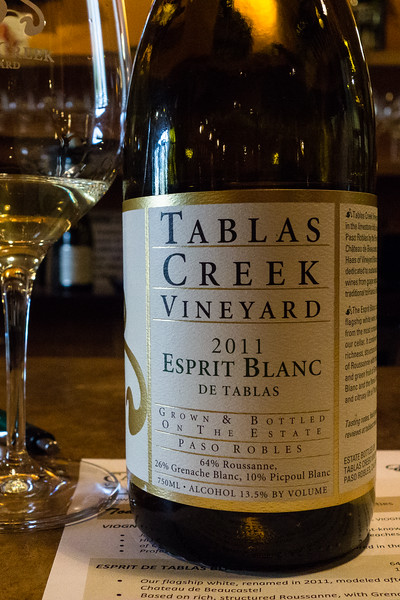Tablas Creek Vineyard Espirit Blanc 2011