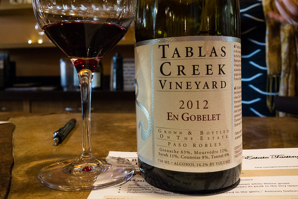 Tablas Creek Vineyard 2012 En Gobelet