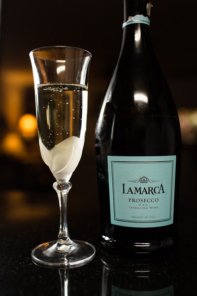 La Marca Prosecco - weekend wine reviews at Sidewalk Shoes.