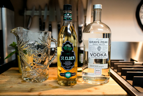 Vodka and Elderflower Liqueur | Grey is the New Black