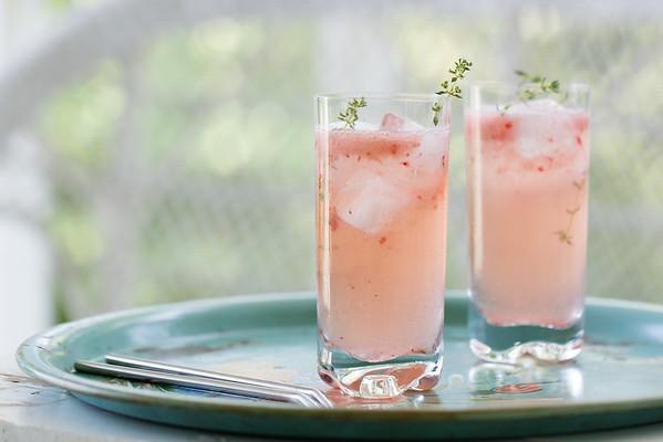 Strawberry Lemony Heaven - light and refreshing!