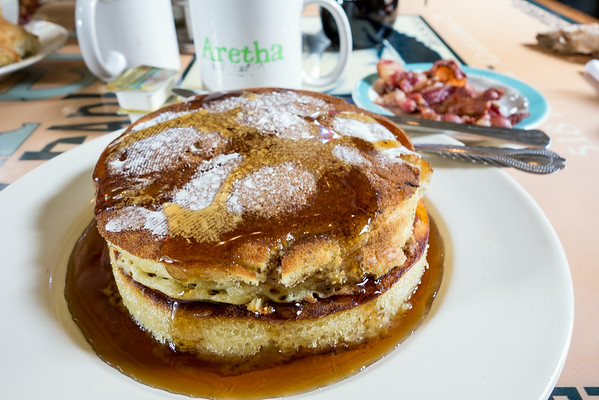 Aretha Frankensteins Pancakes   Grey is the New Black