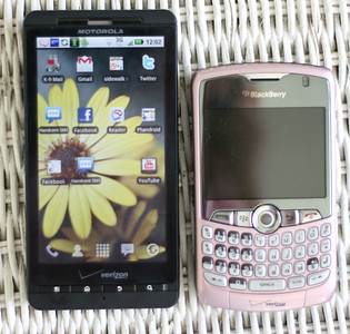 Droid X Vs Blackberry Curve