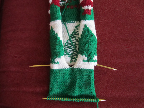 Christmas Stocking Knit Along