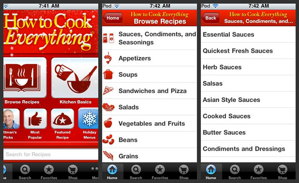Bittman How to Cook Everything App