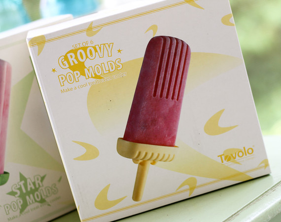 Groovy Ice Pop Molds