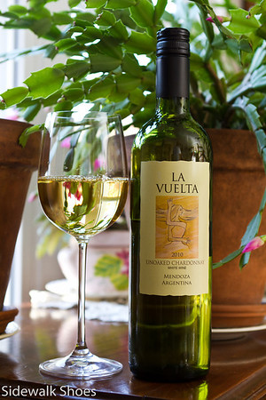 La Vuelta Unoaked Chardonnay