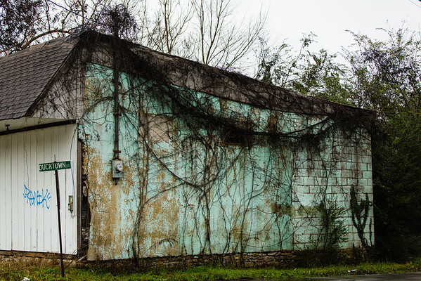 Abandoned building in Soddy Daisy