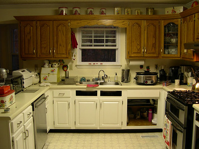Yes You CAN Paint Those Ugly Laminate Countertops ~ Our