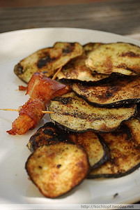 Crumbed and Grilled Eggplant