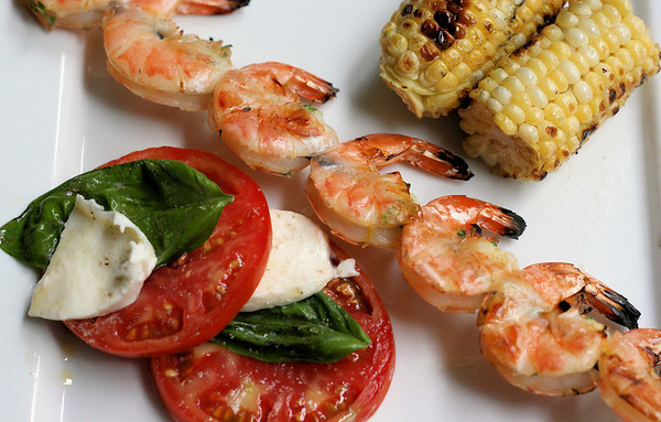 Orange and Thyme Grilled Shrimp