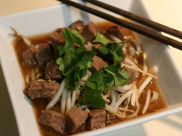 Beef Stewed with Noodle