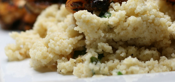 Creepy Closeup of Couscous