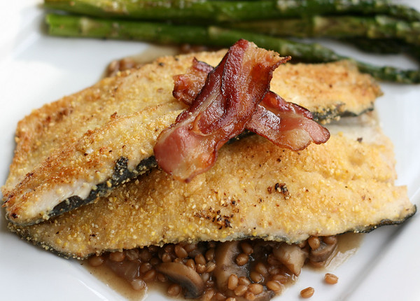 Sauteed Trout with Bacon