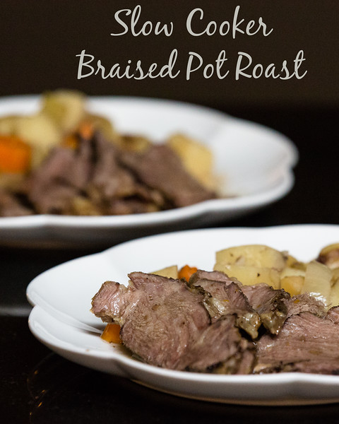 Slow Cooker (Crock-Pot) Braised Pot Roast