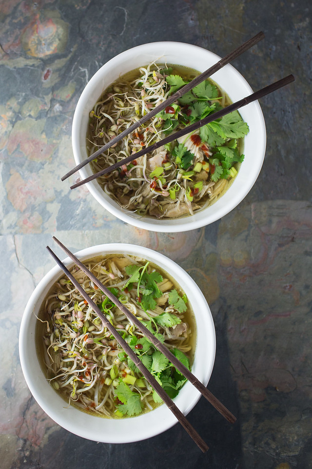 Slow Cooker Pho with Chicken