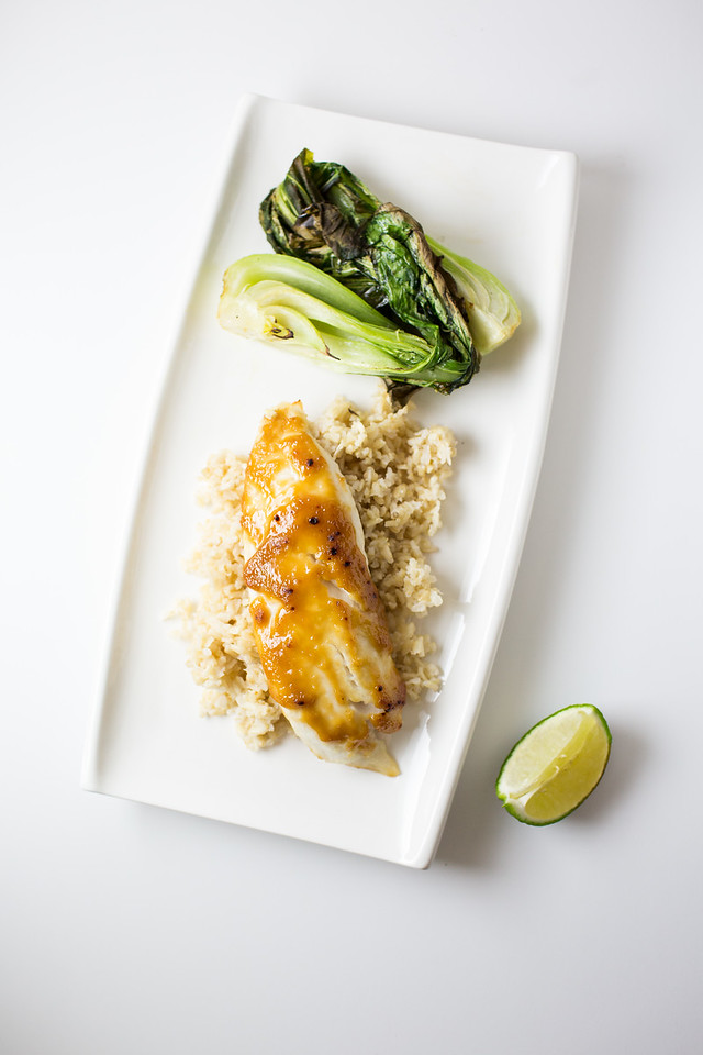Miso glazed tilapia with roasted bok choy miso glazed salmon with roasted bok choy ccuart Image collections