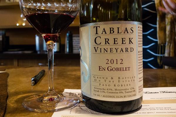 Tablas Creek Vineyard 2012 En Gobelet