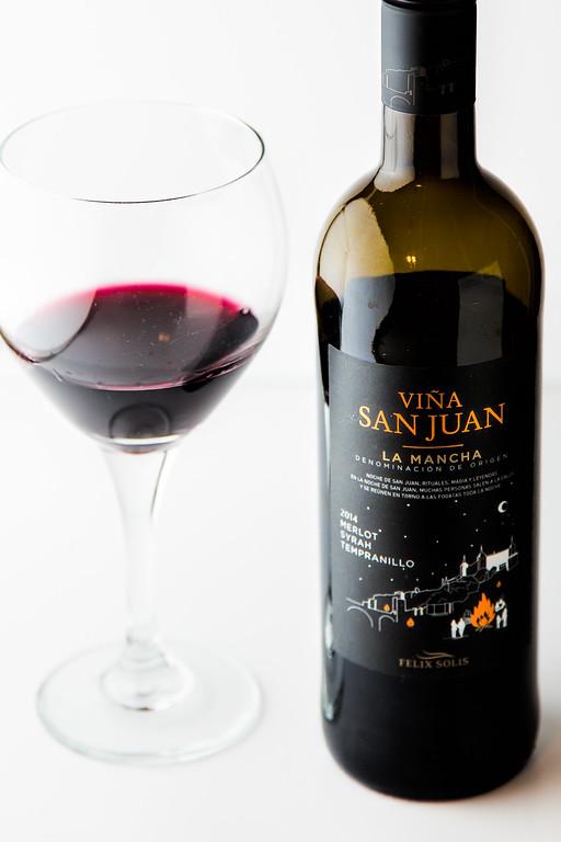 viña San Juan Blend - a yummy red blend of Syrah, Merlot, and Tempranillo