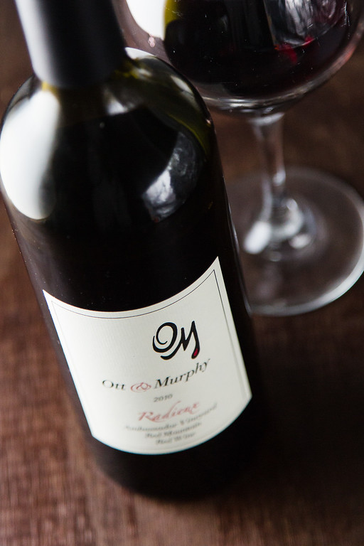 Ott & Murphy Radieux 2012 - a red wine blend of Cabernet Franc & Merlot