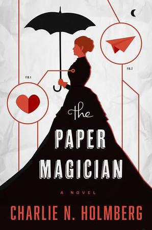 The Paper Magician reviewed by Pam Greer of Sidewalk Shoes