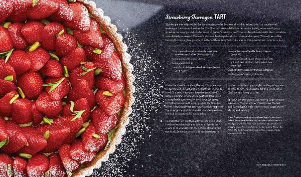 Strawberry-Tarragon Tart from Sugar Rush