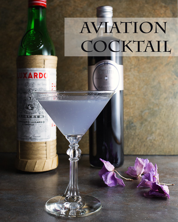 The Aviation Cocktail - www.greyisthenewblack.com