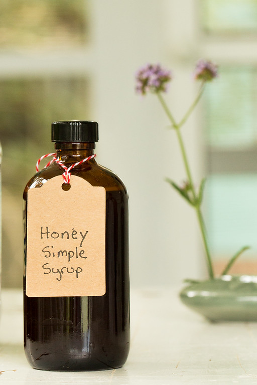 Honey Simple Syrup - an easy way to add variety to your cocktails.