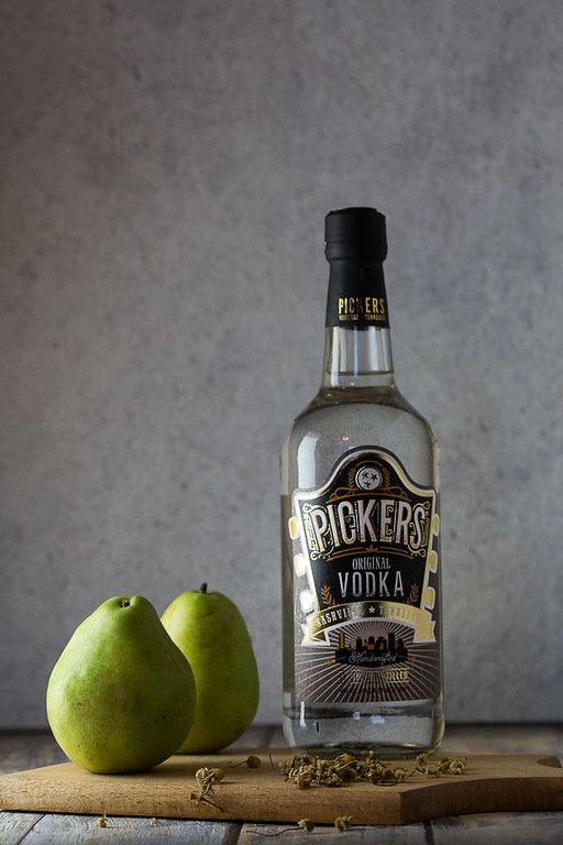 Picker's Vodka for Chamomile-Pear Infused Vodka