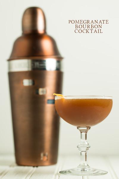 Pomegranate Bourbon Cocktail - yummy!