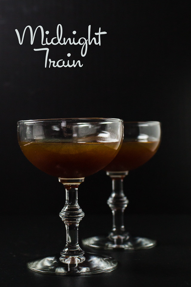 Midnight Train - George Dickel, Averna Amaro, Lemon Juice and simple syrup