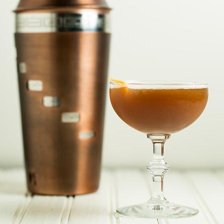 Pomegranate Bourbon Cocktail