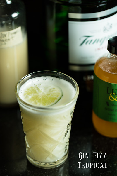 Gin Fizz Tropical - so refreshing!