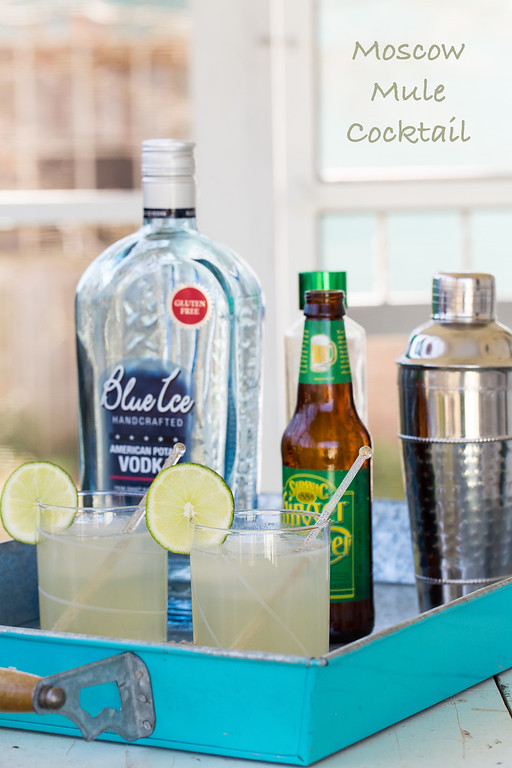 A Moscow Mule Cocktail - an easy classic!