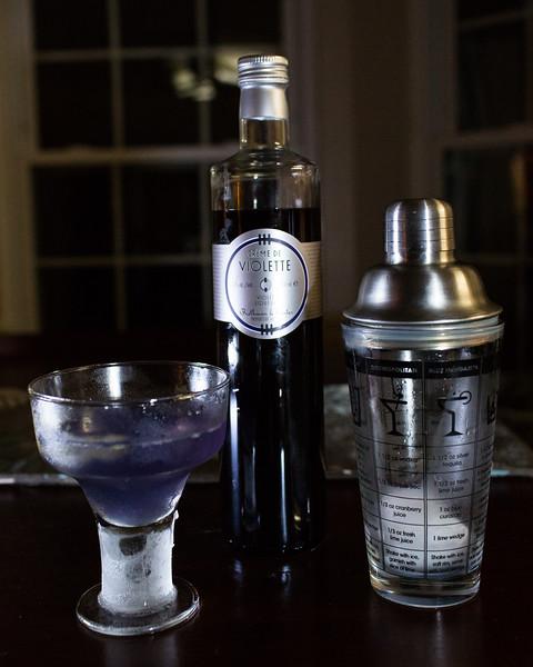 Violette Prosecco Cocktail