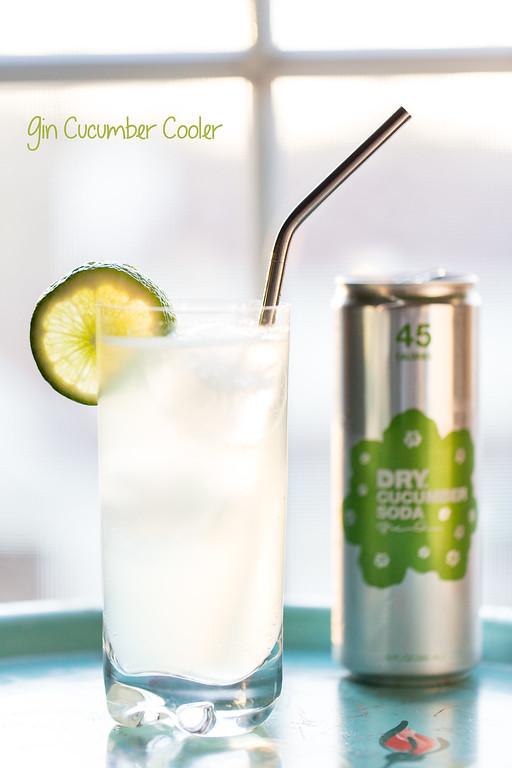 Gin Cucumber Cooler - so refreshing!!