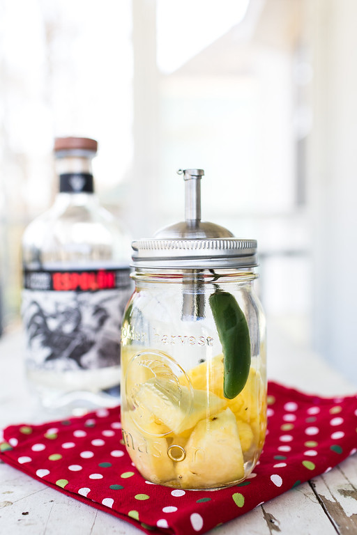 Pineapple Jalapeño Infused Tequila