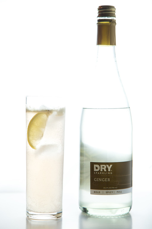 Dry Tequila Fizz made with Dry Sparkling Ginger.