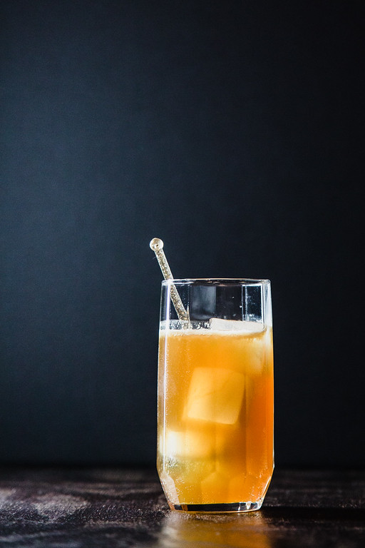Slightly Windy - a rum and ginger cocktail.